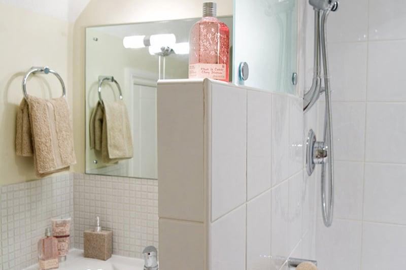 Nettlestead care home shower