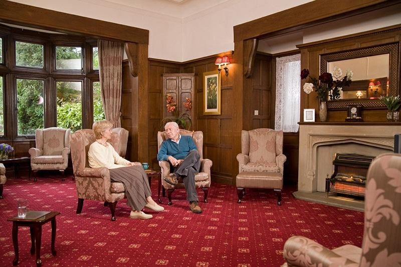 Nettlestead care home living room