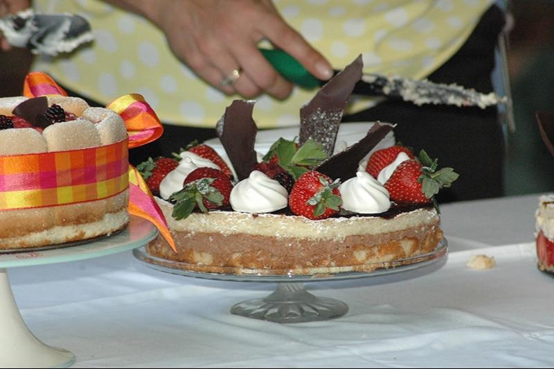 Nettlestead care home cake