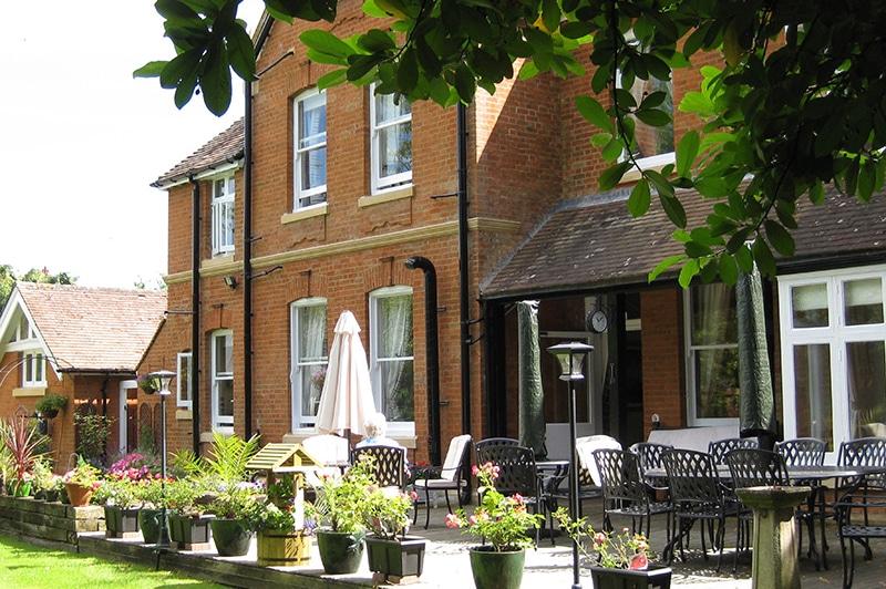 Nettlestead care home terrance